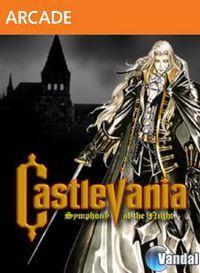 Portada oficial de Castlevania Symphony of the Night XBLA para Xbox 360