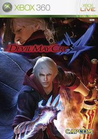 Portada oficial de Devil May Cry 4 para Xbox 360