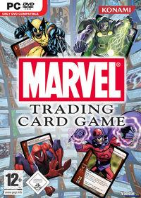Portada oficial de Marvel Trading Card Game para PC