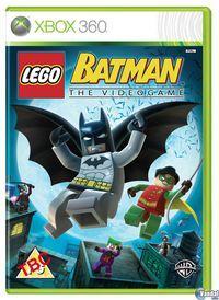 Portada oficial de Lego Batman para Xbox 360
