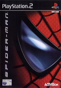 Portada oficial de Spider-Man: The Movie para PS2