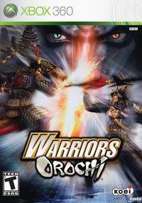 Portada oficial de Warriors Orochi para Xbox 360