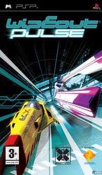 Portada oficial de WipEout Pulse para PSP