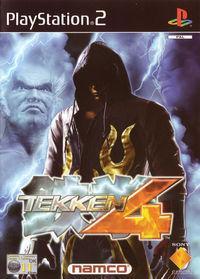 Portada oficial de Tekken 4 para PS2