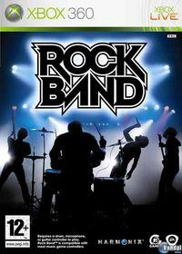 Portada oficial de Rock Band para Xbox 360