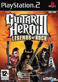Portada oficial de Guitar Hero 3 para PS2