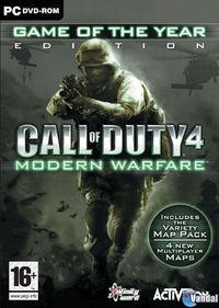 Portada oficial de Call of Duty 4: Modern Warfare para PC