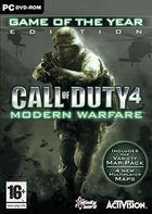 Portada oficial de Call of Duty 4: Modern Warfare para PC
