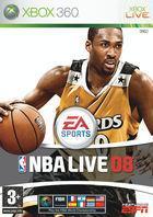 Portada oficial de NBA Live 08 para Xbox 360