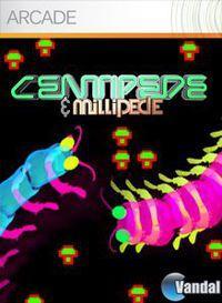 Portada oficial de Centipede & Millipede XBLA para Xbox 360