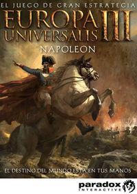 Portada oficial de Europa Universalis III: Napoleon para PC