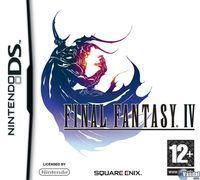 Portada oficial de Final Fantasy IV DS para NDS