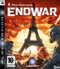 Portada oficial de Tom Clancy's EndWar para PS3