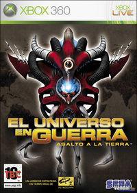 Portada oficial de El Universo en Guerra: Asalto a la Tierra para Xbox 360