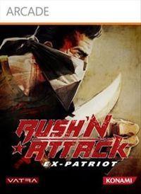 Portada oficial de Rush'n Attack XBLA para Xbox 360