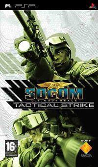 Portada oficial de SOCOM: U.S. Navy SEALs Tactical Strike para PSP
