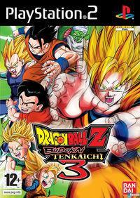 Portada oficial de Dragon Ball Z: Budokai Tenkaichi 3 para PS2