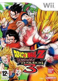 Portada oficial de Dragon Ball Z: Budokai Tenkaichi 3 para Wii