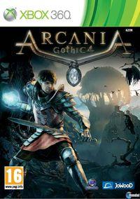 Portada oficial de Arcania: Gothic 4 para Xbox 360