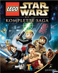 Portada oficial de LEGO Star Wars: The Complete Saga para Xbox 360
