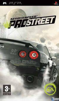 Portada oficial de Need for Speed ProStreet para PSP