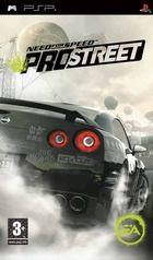 Portada oficial de Need for Speed ProStreet para PSP