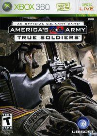 Portada oficial de America's Army: True Soldiers para Xbox 360