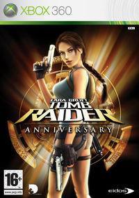 Portada oficial de Tomb Raider Anniversary para Xbox 360