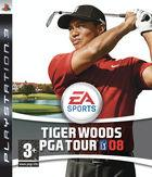 Portada oficial de Tiger Woods PGA Tour 08 para PS3