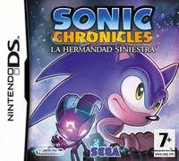 Portada oficial de Sonic Chronicles: La Hermandad Siniestra para NDS