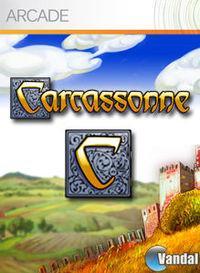 Portada oficial de Carcassonne XBLA para Xbox 360