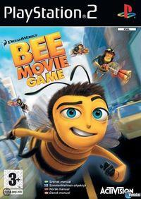 Portada oficial de Bee Movie para PS2