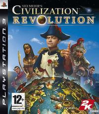 Portada oficial de Sid Meier's Civilization Revolution para PS3