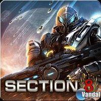 Portada oficial de Section 8 para PS3