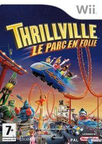 Portada oficial de Thrillville: Off the Rails para Wii