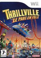 Portada oficial de Thrillville: Off the Rails para Wii