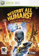 Portada oficial de Destroy All Humans! Path of the Furon para Xbox 360