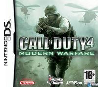 Portada oficial de Call of Duty 4: Modern Warfare DS para NDS