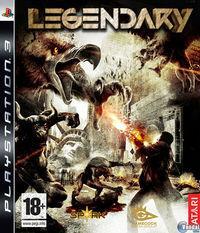 Portada oficial de Legendary para PS3