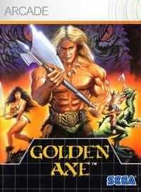 Portada oficial de Golden Axe XBLA para Xbox 360