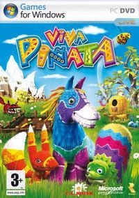 Portada oficial de Viva Piñata para PC