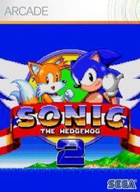 Portada oficial de Sonic the Hedgehog 2 XBLA para Xbox 360