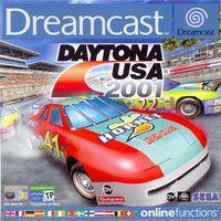 Portada oficial de Daytona USA 2001 para Dreamcast