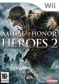 Portada oficial de Medal of Honor Heroes 2 para Wii