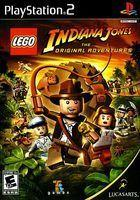 Portada oficial de LEGO Indiana Jones para PS2