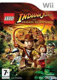 Portada oficial de LEGO Indiana Jones para Wii