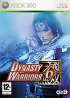 Portada oficial de Dynasty Warriors 6 para Xbox 360