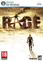 Portada oficial de Rage para PC