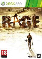 Portada oficial de Rage para Xbox 360