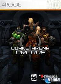 Portada oficial de Quake Arena Arcade XBLA para Xbox 360